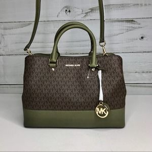 Michael Kors Savannah Satchel NWT